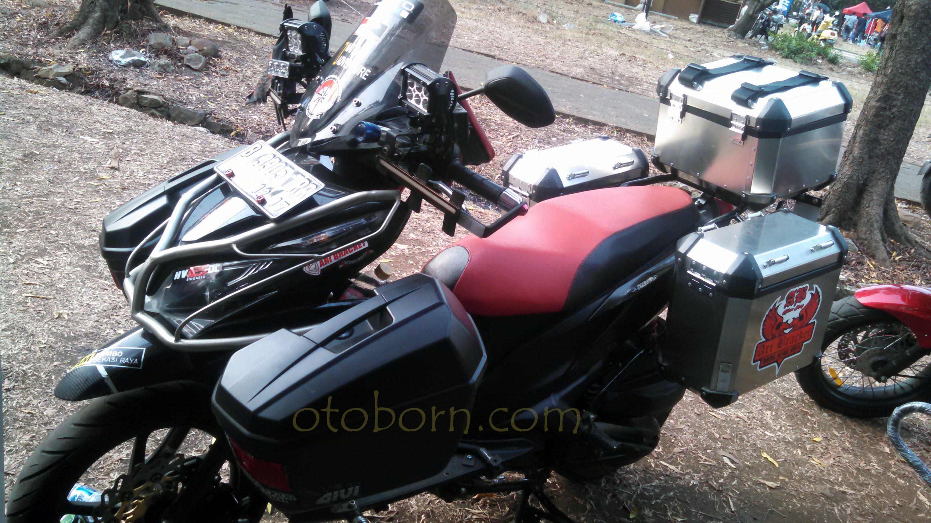 Modifikasi Vario 150 Full Box Kumpulan Modifikasi Motor Vario