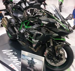 Kawasaki Ninja H2 Seattle motorcycle show otoborn