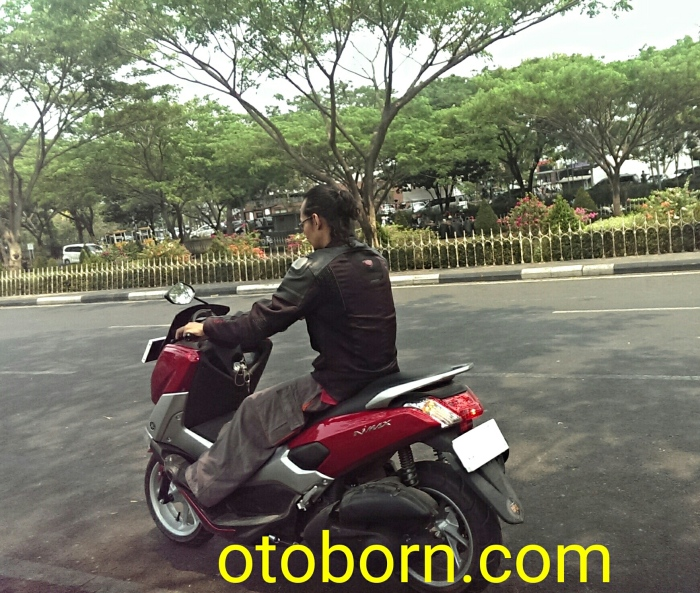 Yamaha NMax Merah Otoborn 01