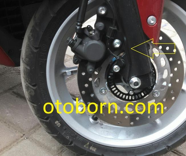 Yamaha NMax Merah Otoborn 05