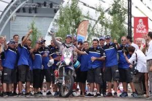Xavier de Soultrait Dakar2015 Yamaha