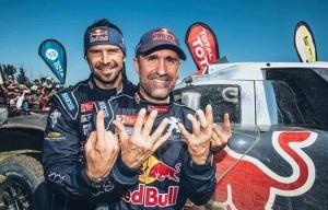 Peterhansel 12 dakar rally world champions
