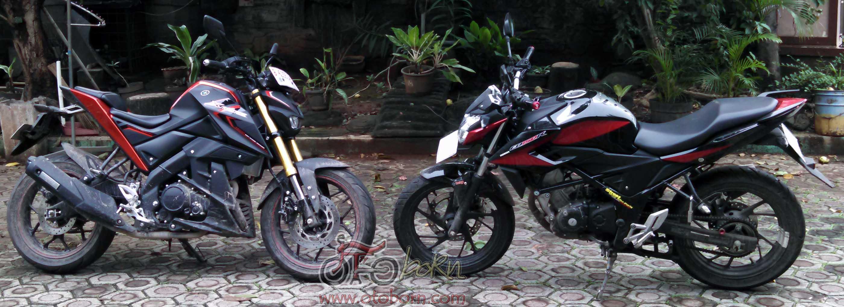 110 Modifikasi Motor Honda All New Cb 150r Streetfire Raptor Black Sleman Cb150r Yamaha Xabre Otoborn 2016 O To Born