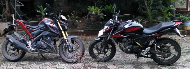 honda all new cb150r yamaha xabre otoborn 2016