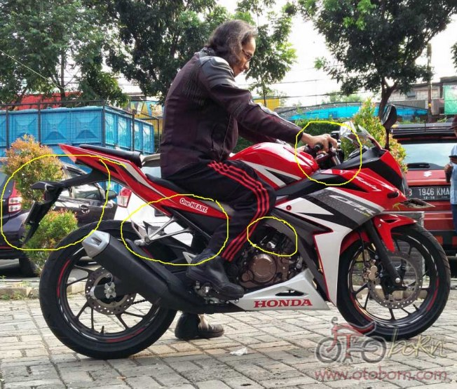 Honda All New CBR150R 2016 otoborn.com kanan ok