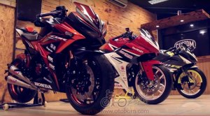 modifikasi all new cbr 150r facelift 2016 bms otoborn 01x