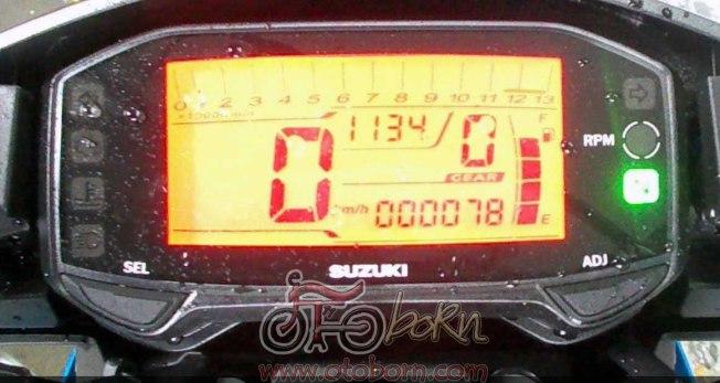 Speedometer satria injeksi 2016