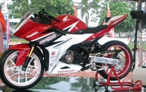 all new cbr150r ahrt samping