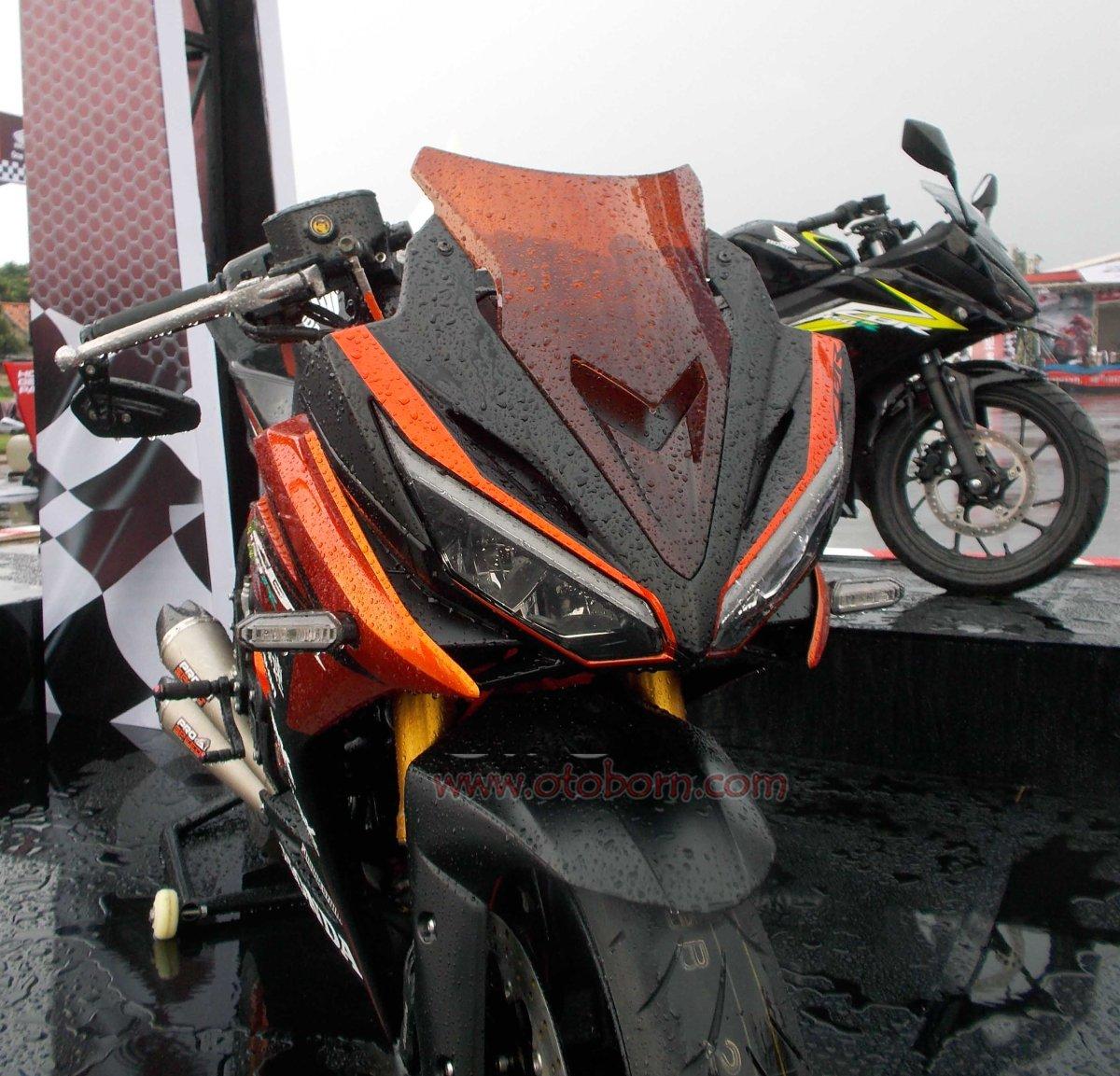 Galeri Modifikasi Honda All New CBR150R Lihat Langsung Lebih Sangar