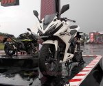 all new cbr150r white otoborn 03