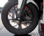all new cbr150r white otoborn 11