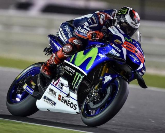Jorge Lorenzo wins Qatar MotoGP 2016