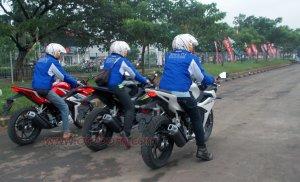 open test ride cbr150r karawang
