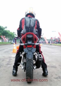 test ride cbr150r karawang