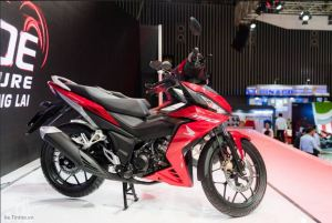 black red honda winner supra x150r