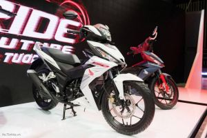 black white honda winner supra x150r