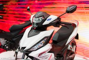 black white side honda winner supra x150r