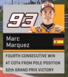 marc marquez 4th wins austin motogp 2016