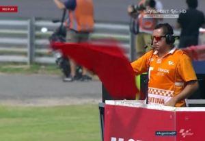 red flag argentina motogp 2016