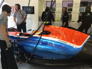 rio haryanto mrt-05 manor paddock F1 2016