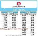 shuttle bus iims2016 grand indonesia otoborn