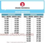 shuttle bus iims2016 grand indonesia otoborn