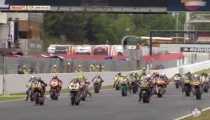 FIM CEV Moto2 Start Catalunya Barcelona