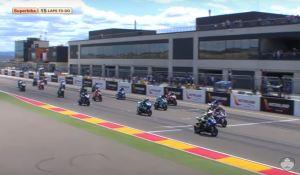 Start SBK FIM CEV Repsol 2016 Aragon