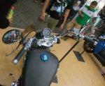Benelli Patagonian Eagle Motobi250 dashboard