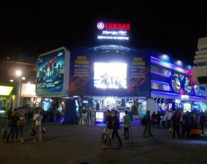 big screen yamaha