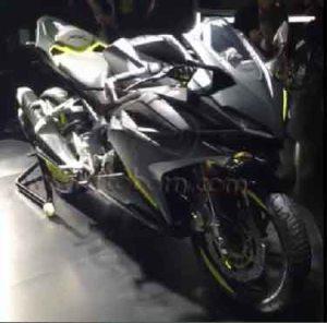 Honda CBR250RR Grey depan kanan