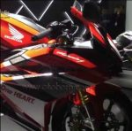 Video : Honda All New CBR250RR Racing Red
