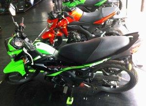 Kawasaki Athlete Pro 125 kiri
