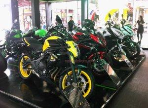 Kawasaki ER6N Big bike