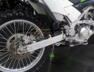 Kawasaki KLX Off The Road kaki