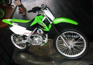 Kawasaki KLX Off The Road kanan atas