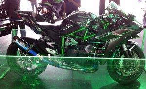 Kawasaki Ninja H2 Kanan