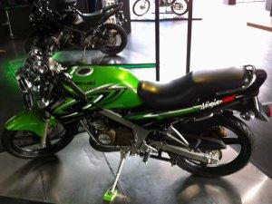Kawasaki Ninja SS kiri