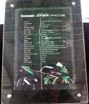 Kawasaki Ninja ZX10R spesifikasi
