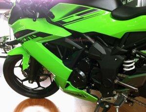 Kawasaki RR250 Mono mesin kiri