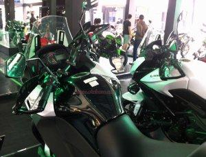Kawasaki Versys 1000 Fuel Dashboard