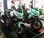 Kawasaki Versys Depan kanan