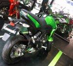 Kawasaki Z125 Kanan belakang