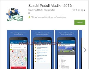 playstore aplikasi suzuki peduli mudik 2016