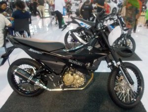 suzuki new satria motocross 1