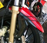 TVS Apache 200RTR License Bracket Samping