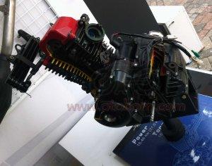 TVS Engine Apache 200RTR atas