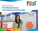 First Media Raih Predikat Top Fixed Provider Internet2016