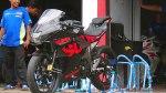 Suzuki GSX-R150 Black Hitam
