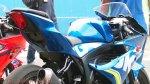 Suzuki GSXR150 MotoGP Biru Parkir